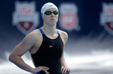 17-летняя пловчиха Ледеки установила мировой рекорд на 400-метровке вольным стилем