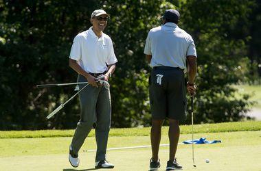 Президент США ушел в отпуск