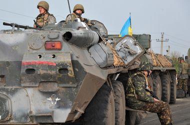 Украинские военные ведут бои за Красный Луч - СНБО