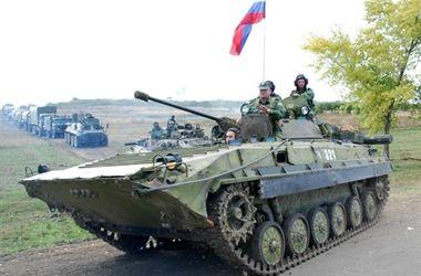 В приграничных районах на территории РФ зафиксировали движение колонн с военной техникой