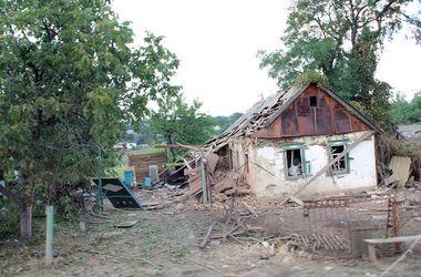 """Град"" уничтожил село Степановка"