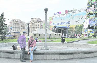В центре Киева восстановили автомобильное движение