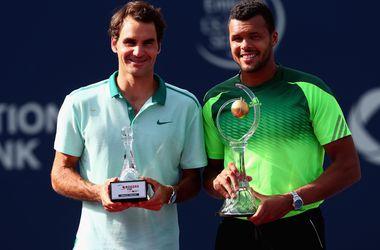 Федерер проиграл Цонга в финале турнира в Торонто
