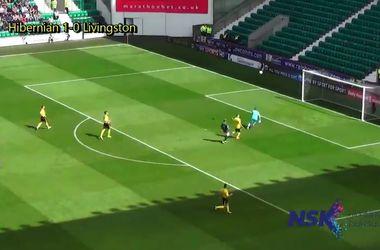 Вратарь забил гол ударом от своих ворот