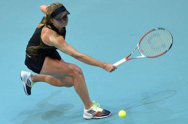 Элина Свитолина вышла во второй круг турнира в Цинциннати