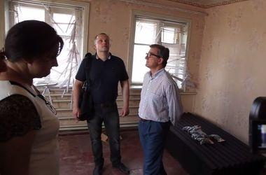 Тарута посетил разрушенную террористами Семеновку