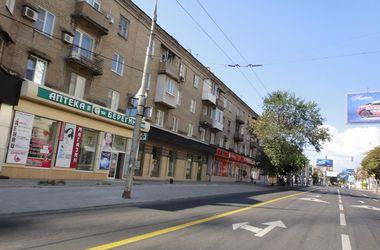 Донецк опустел из-за постоянных обстрелов