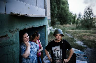 В Донецке снаряды попали на территорию больницы