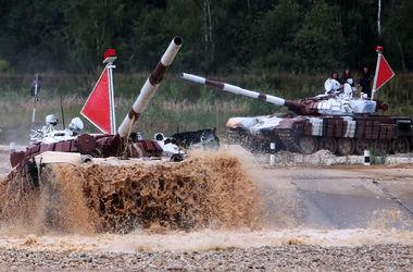 Россия с союзниками провела чемпионат мира по танковому биатлону