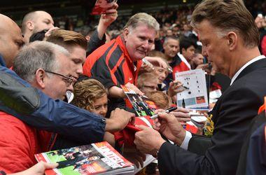 """Луи ван Гаал проиграл первый официальный матч у руля """"Манчестер Юнайтед"""""""