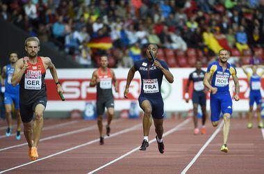Украинские спринтеры заняли девятое место в эстафете на ЧЕ