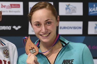 Украинка Анна Волошина - бронзовый призер чемпионата Европы
