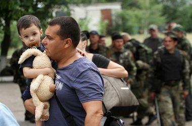 Колонна беженцев была обстреляна на территории, контролируемой боевиками