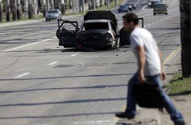 Улицы Донецка снова оказались под артобстрелом