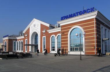В Краматорске после реконструкции открыли железнодорожный вокзал