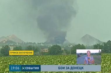Донецк снова подвергся обстрелу