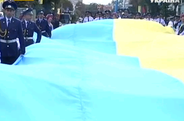 В Виннице уже начали отмечать День Независимости