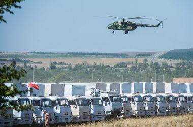 """В   Украину прорвались более 200 грузовиков """"гуманитарного конвоя"""" - ОБСЕ"""