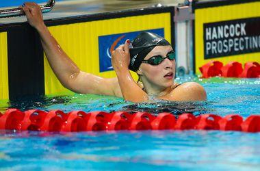 Американка установила новый рекорд в плавании на 400 метров вольным стилем