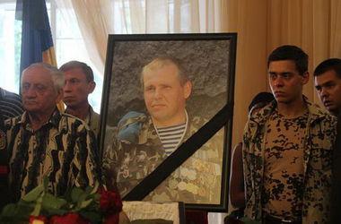 В Киеве  попрощались   с афганцем Олегом Михнюком,  погибшим в зоне АТО