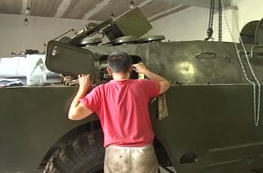 """Батальон """"Донбасс"""" пополнится еще одной бронированной машиной БРДМ"""