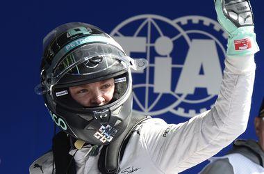 Нико Росберг выиграл квалификацию Гран-при Бельгии