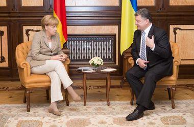 Порошенко сравнил план Меркель с планом Маршала