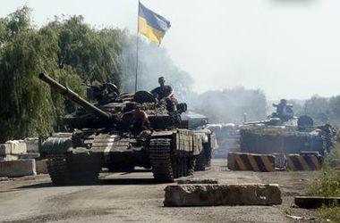 Силы АТО уничтожили 500 террористов в Луганской области