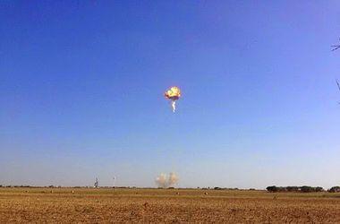 В США при испытаниях взорвалась многоразовая ракета-носитель