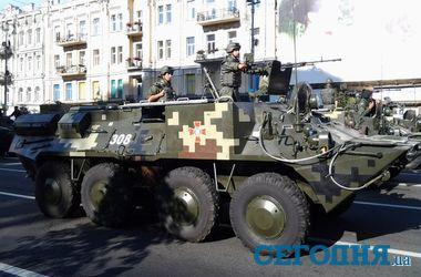 Как выглядела военная техника на параде в Киеве