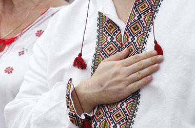 В Ивано-Франковске состоялось шествие в вышиванках в честь Дня независимости Украины