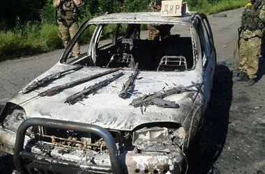 Военнослужащие Нацгвардии задержали террористов, которые  перевозили оружие и боеприпасы