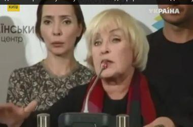 Ада Роговцева посетила освобожденные города Донбасса