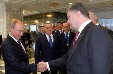 Песков рассказал, о чем Путин договорился с Порошенко