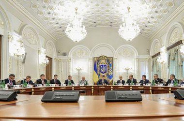 В Киеве началось экстренное заседание СНБО