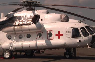 Нацгвардия презентовала вертолеты для эвакуации раненых, аналогов которых в мире пока нет