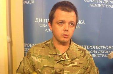 Семен Семенченко снял балаклаву
