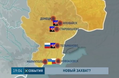 Карта боевых действий сегодня