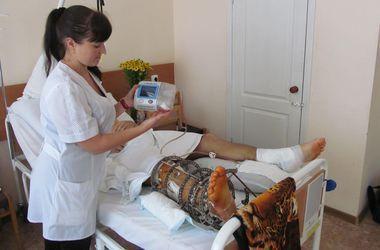 15 раненых бойцов из Днепропетровска отправят лечить в Эстонию