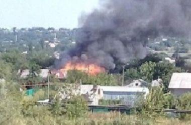 Калининский район Горловки подвергся очередному обстрелу