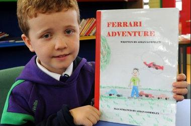 Британский школьник опубликовал книгу для Михаэля Шумахера