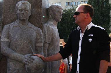 """В Одессе появился сквер """"Истории футбола"""""""
