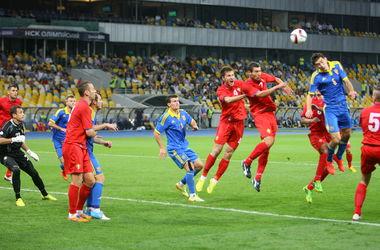 Как Украина обыгрывала сборную Молдовы