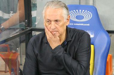 Фоменко поблагодарил сборную Молдовы за то, что она приехала в Украину