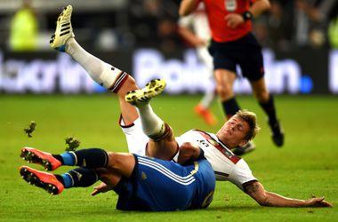 Аргентина забила четыре гола Германии в товарищеском матче