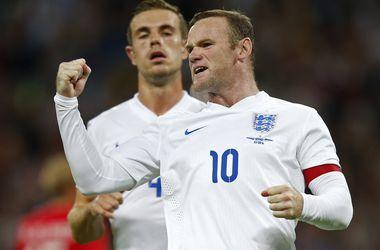 Руни вышел на четвертое место в списке бомбардиров сборной Англии