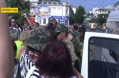 Бойцы возвращаются в отпуска из зоны АТО
