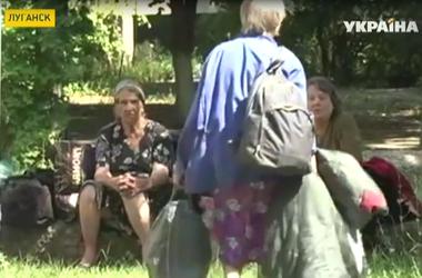 Ровно месяц Луганск живет, как в страшном сне