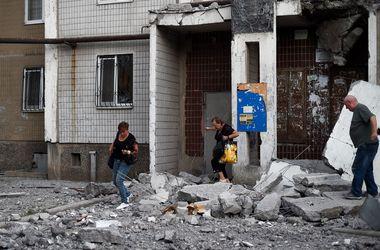 Вечером были обстреляны три района Донецка