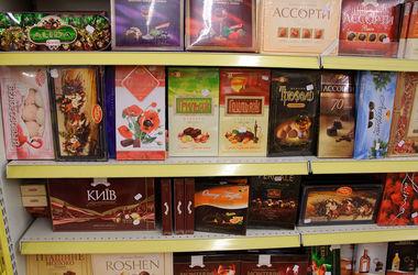 Россия запретила все украинские конфеты и шоколад